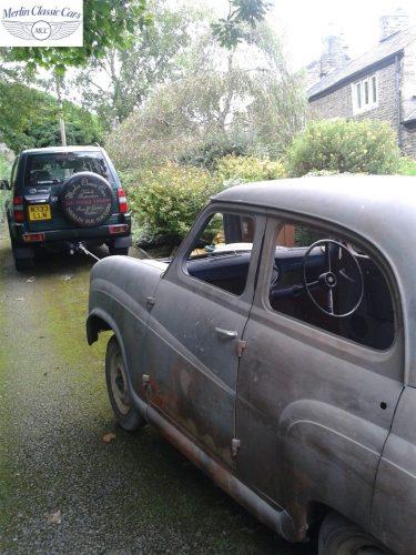 Austin A35 Bodywork & Bare Metal Respray 1