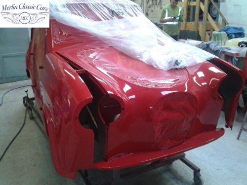 Austin A35 Bodywork & Bare Metal Respray 3