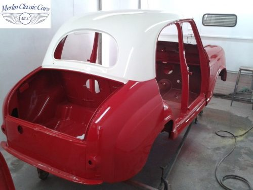 Austin A35 Bodywork & Bare Metal Respray 4