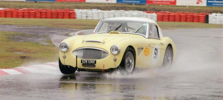 Austin Healey Race Car Header