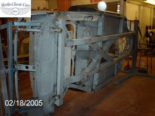 Austin Healey Restoration MkIII 1