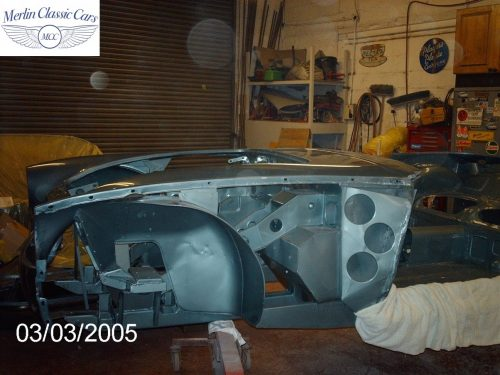 Austin Healey Restoration MkIII 4