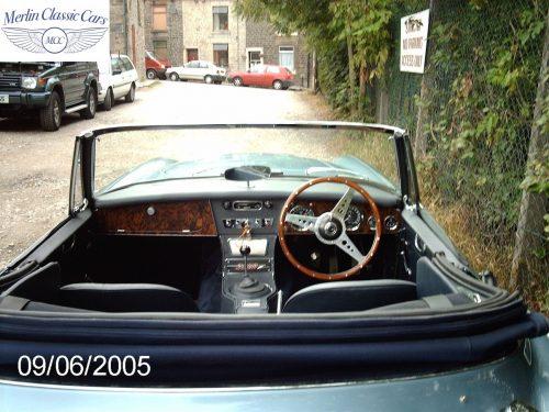 Austin Healey Restoration MkIII 40