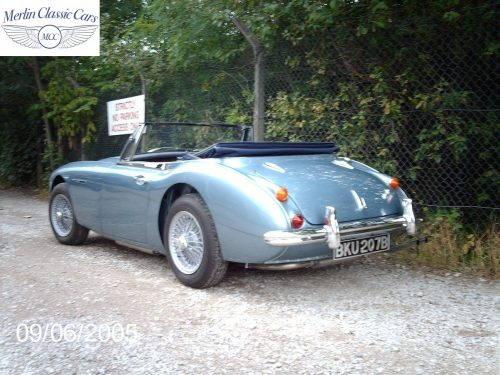 Austin Healey Restoration MkIII 41