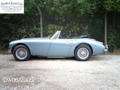 Austin Healey Restoration MkIII 42
