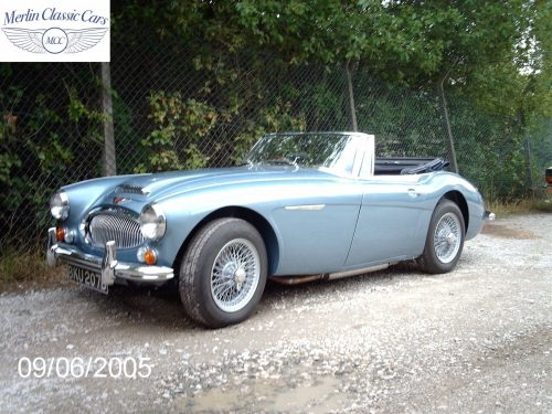 Austin Healey Restoration MkIII 43