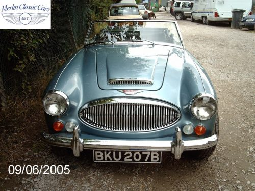 Austin Healey Restoration MkIII 44