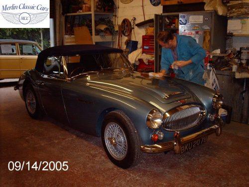 Austin Healey Restoration MkIII 51