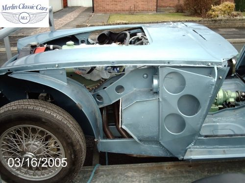 Austin Healey Restoration MkIII 6