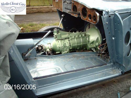 Austin Healey Restoration MkIII 9