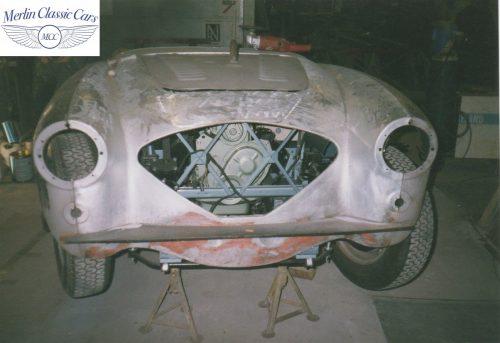 Austin Healey Restoration Photos 100 4 6