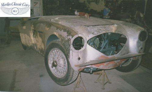 Austin Healey Restoration Photos 100 4 7