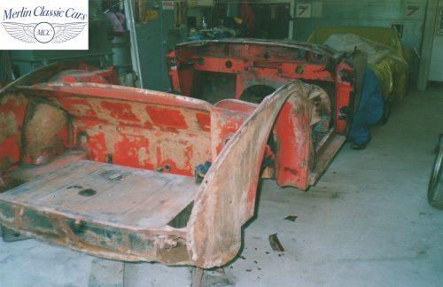 Austin Healey Restoration Photos 13