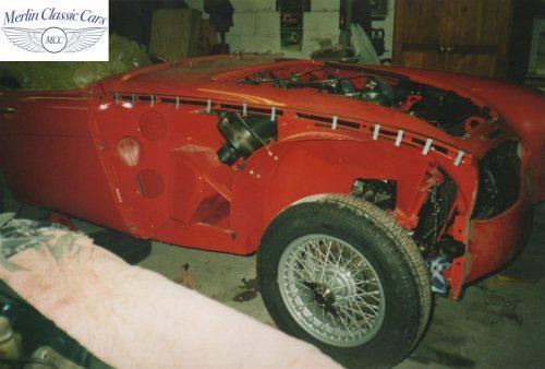 Austin Healey Restoration Photos 24