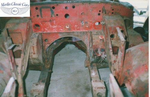 Austin Healey Restoration Photos 4