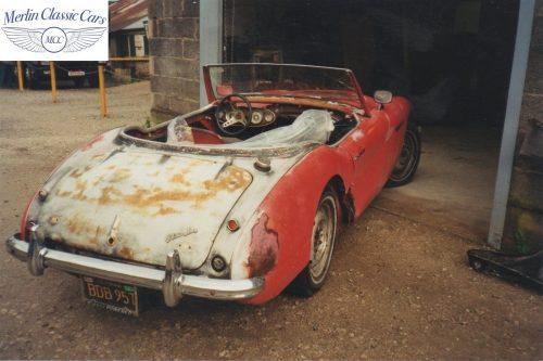 Austin Healey Restoration Photos 8