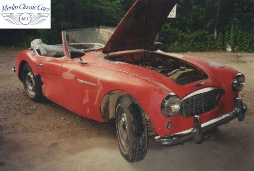 Austin Healey Restoration Photos 9