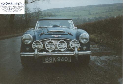 Austin Healey Restoration Photos Rally Car 1