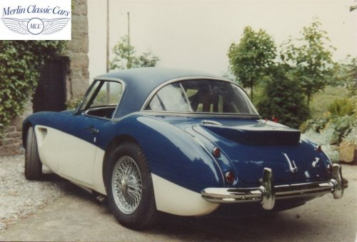 Austin Healey Restoration Photos Rally Car 16