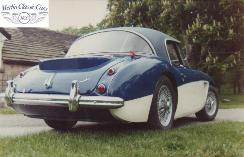 Austin Healey Restoration Photos Rally Car 17