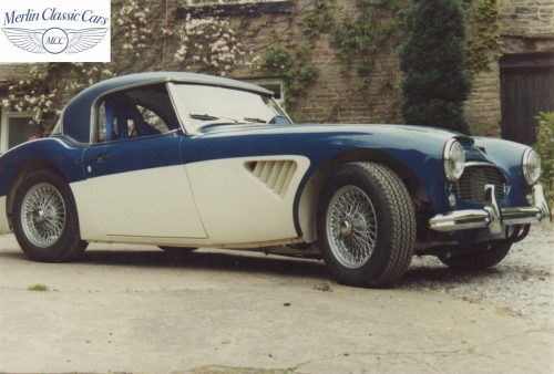 Austin Healey Restoration Photos Rally Car 18