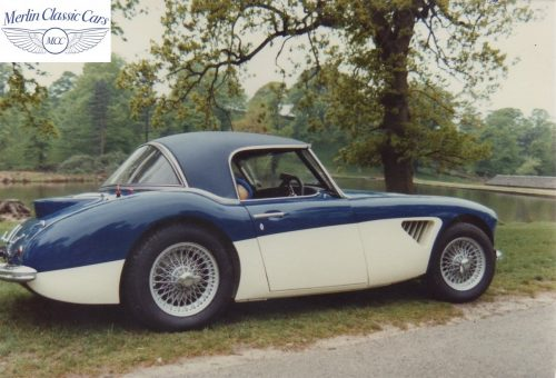 Austin Healey Restoration Photos Rally Car 19