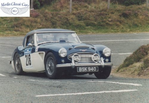 Austin Healey Restoration Photos Rally Car 3