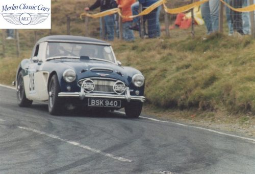 Austin Healey Restoration Photos Rally Car 5