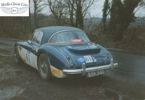 Austin Healey Restoration Photos Rally Car 7