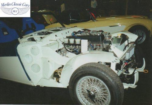 Austin Healey Restoration Photos Rally Car 9