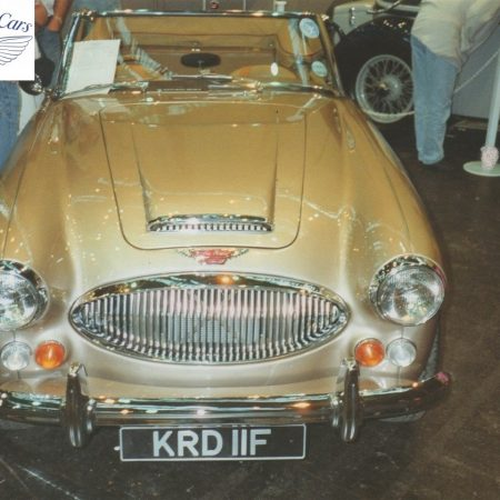 Austin Healey Restoration Photos Rare Gold MkIII 1