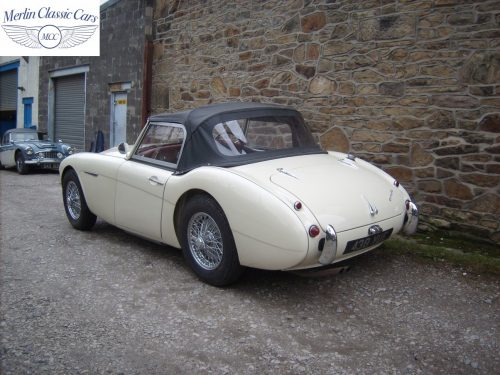Austin Healey Restoration Photos Two Seater 12