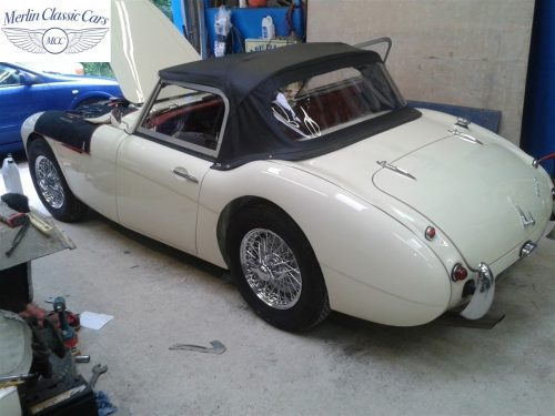 Austin Healey Restoration Photos Two Seater 4