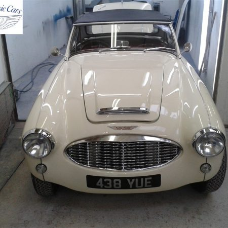 Austin Healey Restoration Photos Two Seater 6