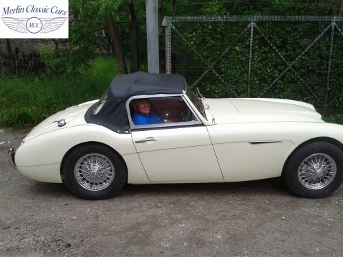 Austin Healey Restoration Photos Two Seater 8