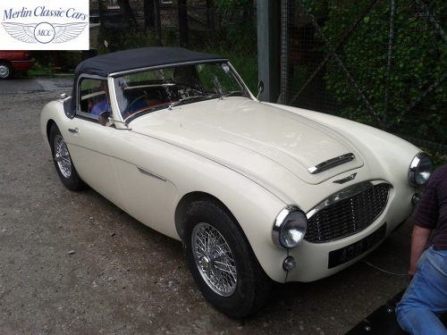 Austin Healey Restoration Photos Two Seater 9