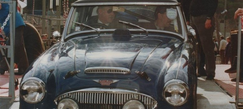 Austin Healey Restoration Rally Car