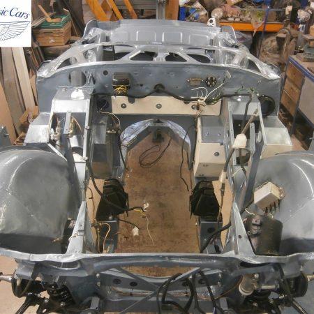Austin Healey Rotisserie Restoration 100 6 3