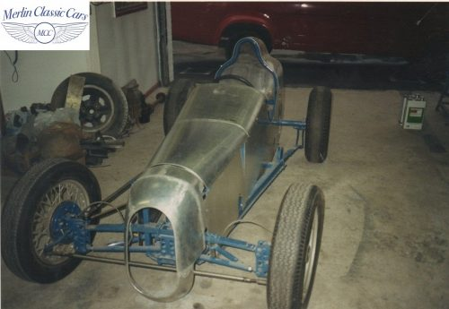 Austin Seven Race Car Restoration