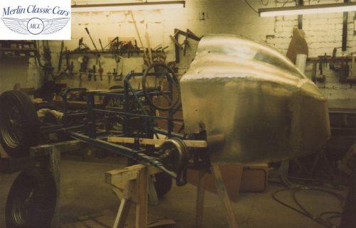 Austin Seven Race Car Restoration Photos 1