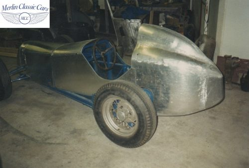 Austin Seven Race Car Restoration Photos 2