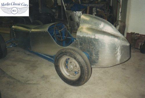 Austin Seven Race Car Restoration Photos 2
