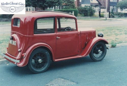 Austin Seven Ruby Saloon Restoration Photos 3