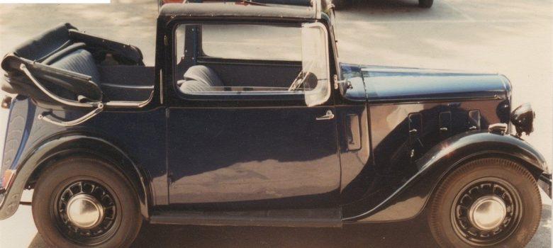 Austin Ten Cabriolet Restoration Photos 2