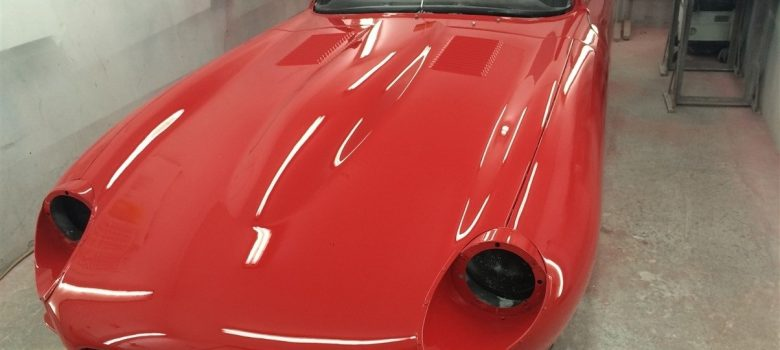 Classic Car Paintwork Header