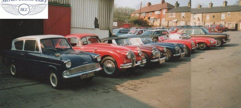 Classic Car Restoration Examples Header