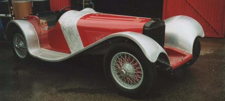 Jaguar SS 100 Restoration 3 1