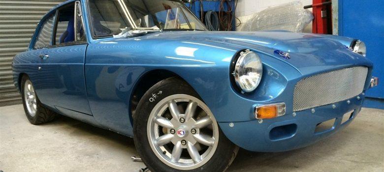 MGB GT Race Car Restoration 1967 92