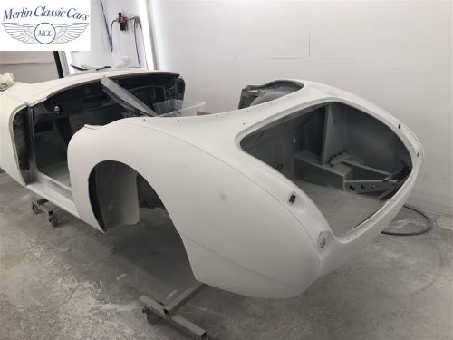 Austin Healey 100 6 Currently Under Restoration 14