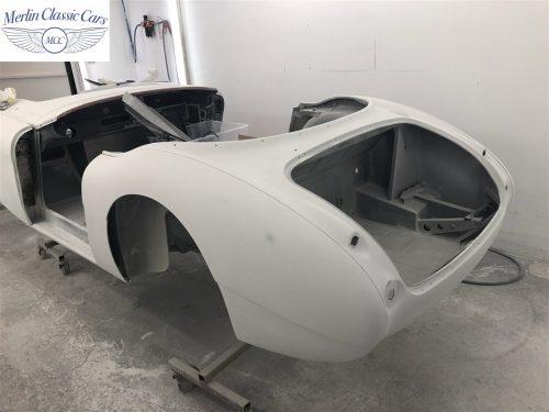 Austin Healey 100 6 Currently Under Restoration 14